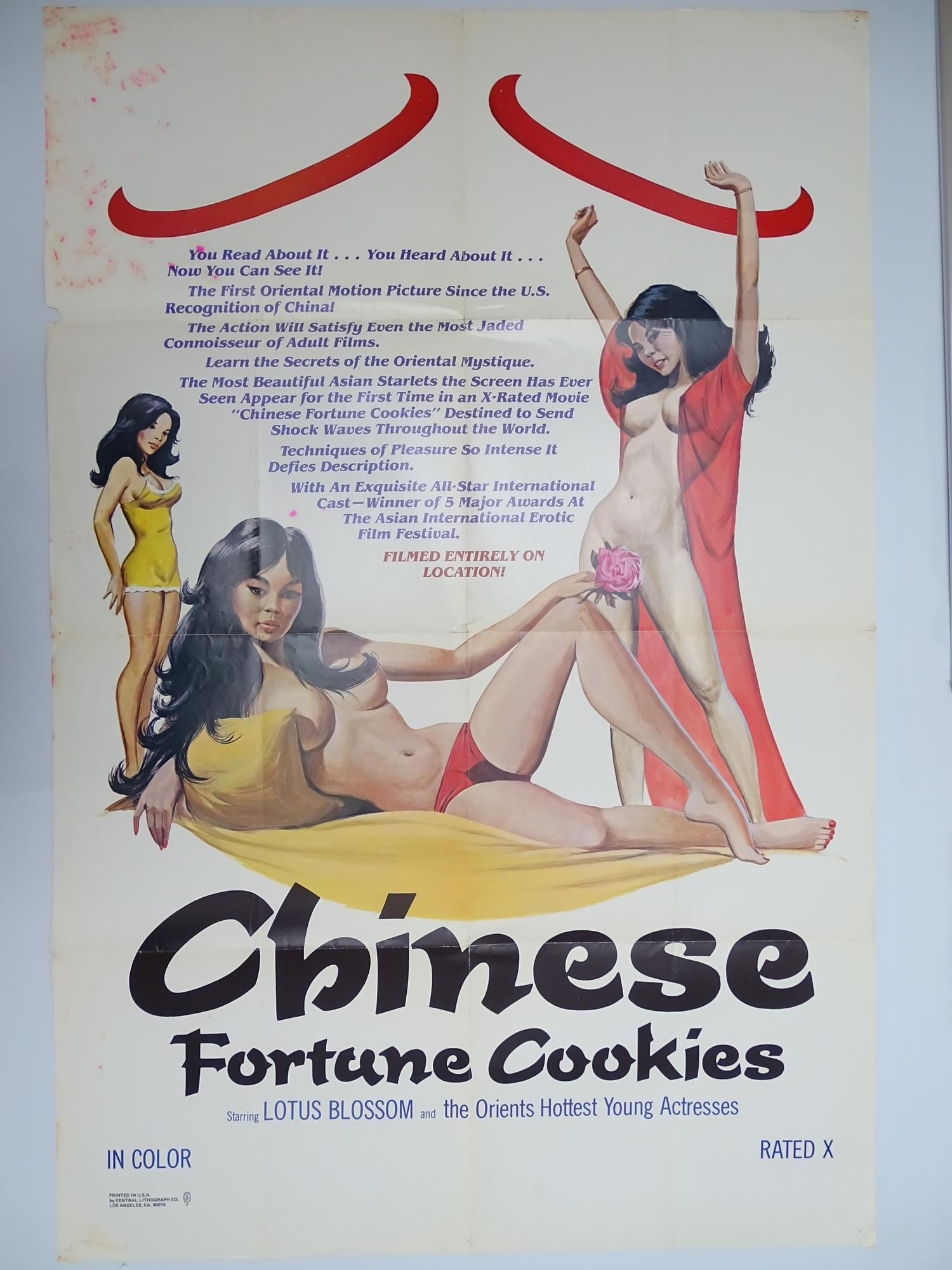 Selection of UK Quad Film Posters: DON'T GET YOUR KNICKERS IN A TWIST / MOST GIRLS WILL; GOODBYE - Image 8 of 9