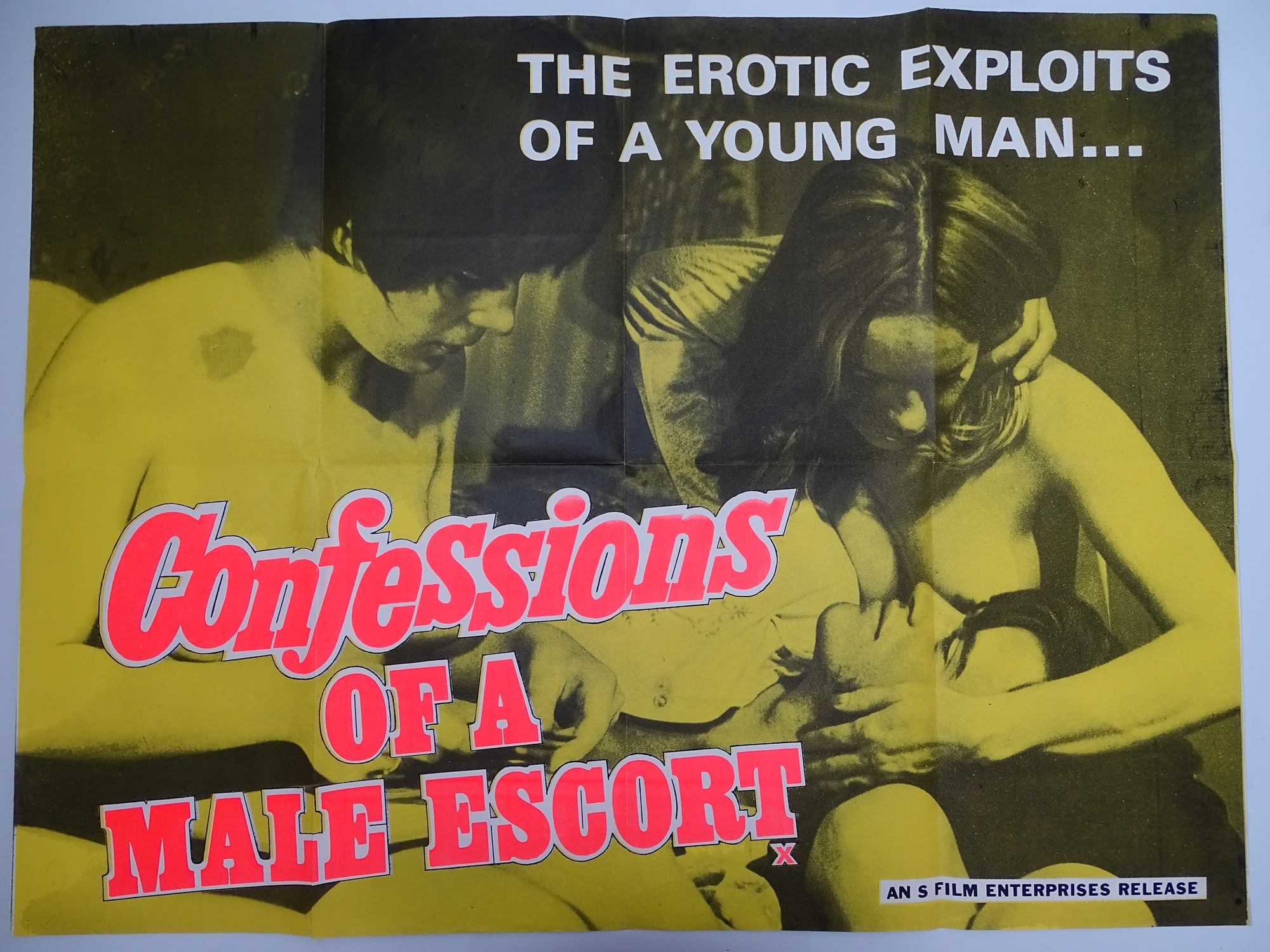 Selection of UK Quad Film Posters: NAUGHTY KNICKERS; FEMALE SEXUALITY; CONFESSIONS OF A MALE ESCORT; - Image 3 of 10