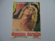 OBSESSIONS CHARNELLES (CARNAL DESIRES) (1974) - French Petite Movie Poster