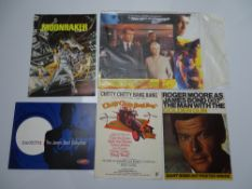 JAMES BOND / IAN FLEMING Collectables: MAN WITH THE GOLDEN GUN (souvenir poster foldout magazine);