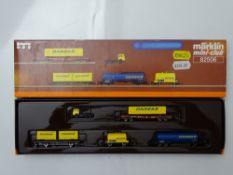 Z GAUGE MODEL RAILWAYS: A MARKLIN mini-club 82506 Danzas wagon set - VG in G/VG box