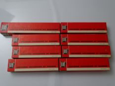 HO GAUGE MODEL RAILWAYS: A quantity of French Outline coaches by JOUEF - G/VG in G boxes (8)