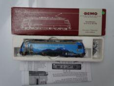 HOm GAUGE MODEL RAILWAYS: A BEMO HOm 1259 127 Swiss Outline Ge4/4 III electric locomotive in