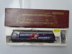 HOm GAUGE MODEL RAILWAYS: A BEMO HOm 1259 124 Swiss Outline Ge4/4 III electric locomotive in Radio