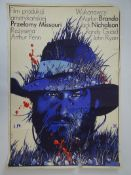 A group of original 1st release Polish Western movie posters - conditions vary - to include: THE