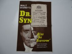 DR SYN (1963) (alias the Scarecrow) -UK Double Crown - Folded, Fine