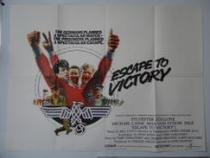 "ESCAPE TO VICTORY (1981) - UK Quad film poster 30"" x 40"" (76 x 101.5 cm) (30"" x 40"") (MICHAEL"