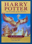 HARRY POTTER AND THE ORDER OF THE PHOENIX (2003) - Publishers (Bloomsbury) promotional advertising