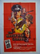 THE EAGLE HAS LANDED(1977) - Australian One Sheet Movie Poster