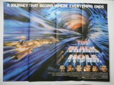 THE BLACK HOLE (1979) - British UK Quad - WALT DISNEY'S Star Wars inspired 'live action' space