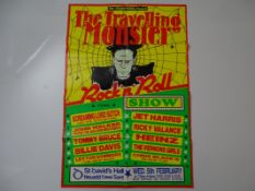 MUSIC: THE TRAVELLING MONSTER - ROCK 'N' ROLL SHOW - (SCREAMING LORD SUTCH / RICKY VALANCE / JET