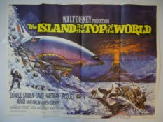 "ISLAND AT THE TOP OF THE WORLD (1974) - UK Quad film poster 30"" x 40"" (76 x 101.5 cm) - Main"
