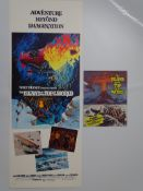 ISLAND AT THE TOP OF THE WORLD (1974) - US Insert Movie Poster and fold out poster magazine (2)