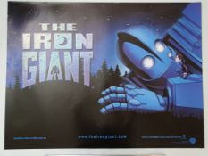 "IRON GIANT (1999) - close up style - UK Quad Film Poster 30"" x 40"" (76 x 101.5 cm) - rolled"