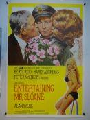 ENTERTAINING MR SLOANE (1970) - UK One Sheet - rolled