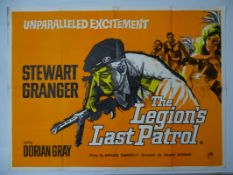 "THE LEGION'S LAST PATROL (1963) (STEWART GRANGER) - UK Quad film poster 30"" x 40"" (76 x 101.5 cm) ("