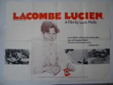 "LACOMBE LUCIEN (1974) - UK Quad film poster 30"" x 40"" (76 x 101.5 cm) (30"" x 40"") for the French"
