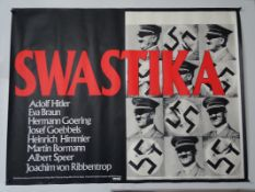 "SWASTIKA (1974) - UK Quad film poster 30"" x 40"" (76 x 101.5 cm) (30"" x 40"") - Rolled"
