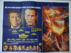 "THE TOWERING INFERNO (1974) - UK Quad film poster (30"" x 40"") Artwork by John BERKEY - two surface"