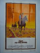 WESTERN FILM MEMORABILIA: A group of mixed Film Posters to include: 3 x UK Quad Posters BUCKSKIN (