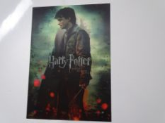 HARRY POTTER AND THE DEATHLY HALLOWS: PART 2 (2011) - Lenticular Promotional Poster - featuring
