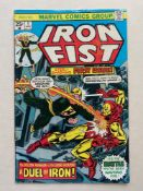 IRON FIST #1 - (1975 - MARVEL - CENTS Copy) - First solo run in own title - Story continued from
