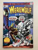 WEREWOLF BY NIGHT #32 - (1975 - MARVEL - Pence Copy) - A HOT Bronze Age key - Origin and first