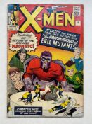 UNCANNY X-MEN #4 - (1964 - MARVEL - Pence Copy) - Second appearance of Magneto and the FIRST