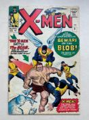 UNCANNY X-MEN #3 - (1964 - MARVEL - Pence Copy) - First appearance of The Blob - Cover and art by