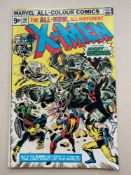 UNCANNY X-MEN #96 - (1975 - MARVEL - Pence Copy) - Fourth appearance of the 'New X-Men' - First