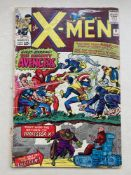 UNCANNY X-MEN #9 - (1965 - MARVEL - CENTS Copy) - First meeting of the X-Men and the Avengers +