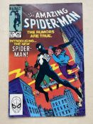 AMAZING SPIDER-MAN #252 - (1984 - MARVEL - Cents/Pence Copy) - Spider-Man appears in new black