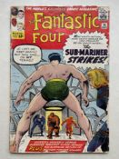 FANTASTIC FOUR #14 - (1963 - MARVEL - CENTS Copy) - The Fantastic Four battle both the Sub-Mariner