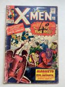 UNCANNY X-MEN #5 - (1964 - MARVEL - Pence Copy) - Third appearance of Magneto and the second