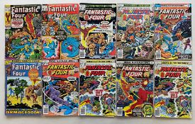 FANTASTIC FOUR #100, 106, 116, 178, 180, 181, 182, 183 (x 2), 189 - (10 in Lot) - (1970/77 -