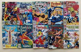 FANTASTIC FOUR LOT - (30 in Lot) - (1988/96 - MARVEL - Cents Copy/Pence Copy) - Run includes #310,