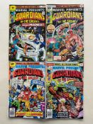 MARVEL PRESENTS #4, 5, 6, 9 - GUARDIANS OF THE GALAXY - (1976 - MARVEL - Pence Copy) - Guardians