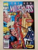 NEW MUTANTS #98 - (1991 - MARVEL - Cents Copy) - First appearance of Deadpool + the first
