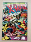 "UNCANNY X-MEN #95 - (1975 - MARVEL - CENTS Copy) - Third appearance of the 'New X-Men' - ""Death"""