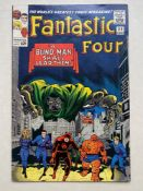 FANTASTIC FOUR #39 - (1965 - MARVEL - CENTS Copy) - Early Daredevil cross-over + Doctor Doom