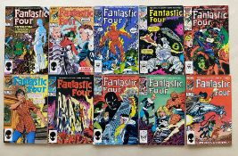 FANTASTIC FOUR LOT - (40 in Lot) - (1979/86 - MARVEL - Cents Copy/Pence Copy) - Run includes #205,