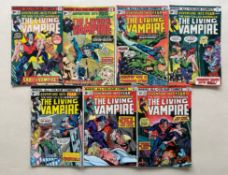 ADVENTURE INTO FEAR: MORBIUS THE LIVING VAMPIRE #23, 25, 27, 28, 29, 30, 31 (7 in Lot) - (1974/
