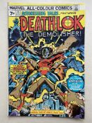 ASTONISHING TALES: DEATHLOK #25 - (1974 - MARVEL - Pence Copy) - First appearances of Deathlok the