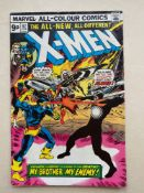 UNCANNY X-MEN #97 - (1976 - MARVEL - Pence Copy) - First (brief) appearance of Lilandra + Havok