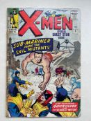 UNCANNY X-MEN #6 - (1964 - MARVEL - Pence Copy) - Sub-Mariner and Brotherhood of Evil Mutants