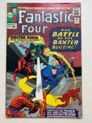 FANTASTIC FOUR #40 - (1965 - MARVEL - CENTS Copy) - Early Daredevil cross-over + Doctor Doom