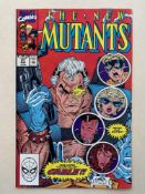 NEW MUTANTS #87 - (1990 - MARVEL - Cents Copy) - FIRST printing + First appearance of Cable +