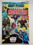 MARVEL PREMIERE #28 - LEGION OF MONSTERS - (1976 - MARVEL - Pence Copy) - First appearance the