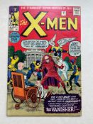 UNCANNY X-MEN #2 - (1963 - MARVEL - Pence Copy) - First appearance of The Vanisher and second