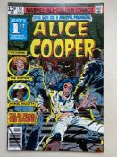MARVEL PREMIERE #50 - ALICE COOPER - (1979 - MARVEL - Pence Copy) - Alice Cooper's first comic